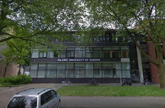 De voormalige Islamitische Universiteit van Europa aan de Statenweg in Rotterdam.