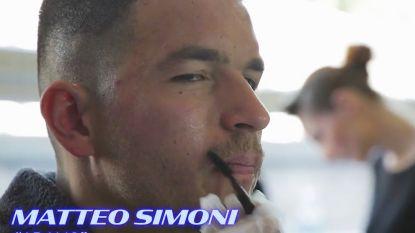 """Kijk mee achter de schermen van 'Patser': """"Matteo Simoni, de meest onderschatte acteur van heel de wereld"""""""