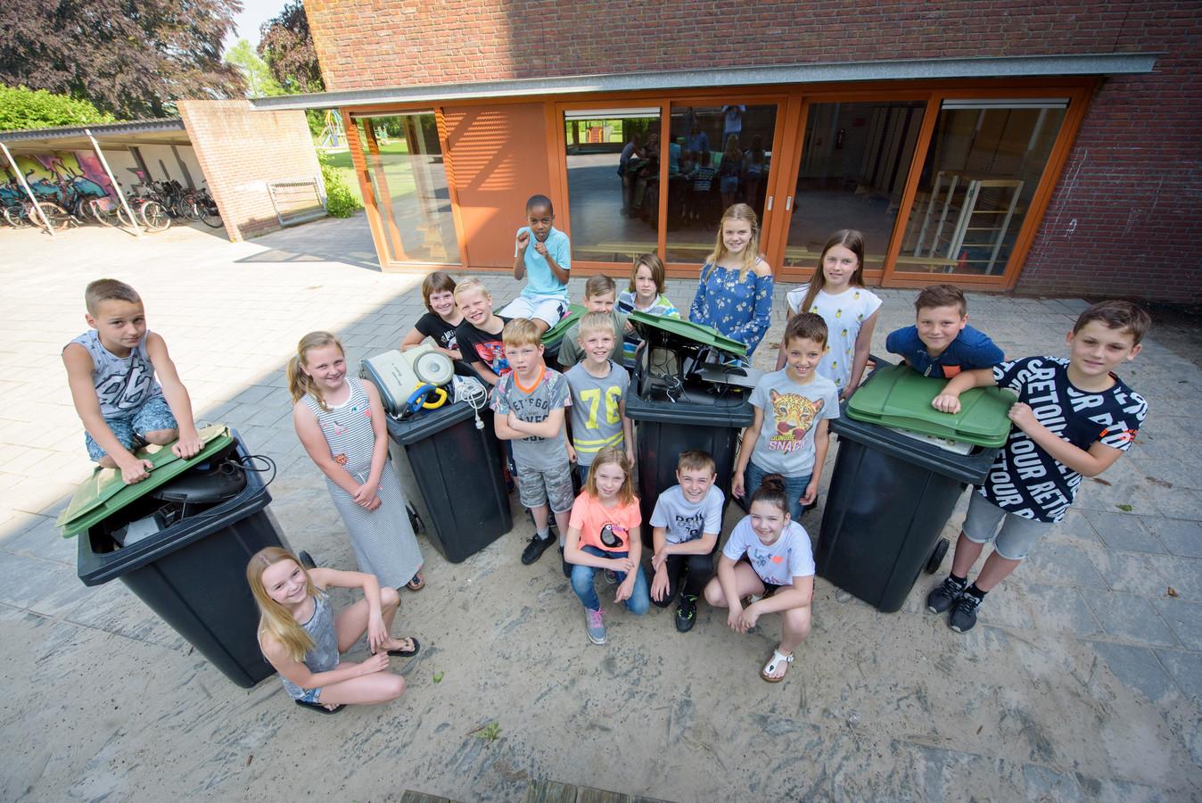 Kinderen van St. Jan Baptist school deden mee aan E-waste Race (foto ter illustratie).