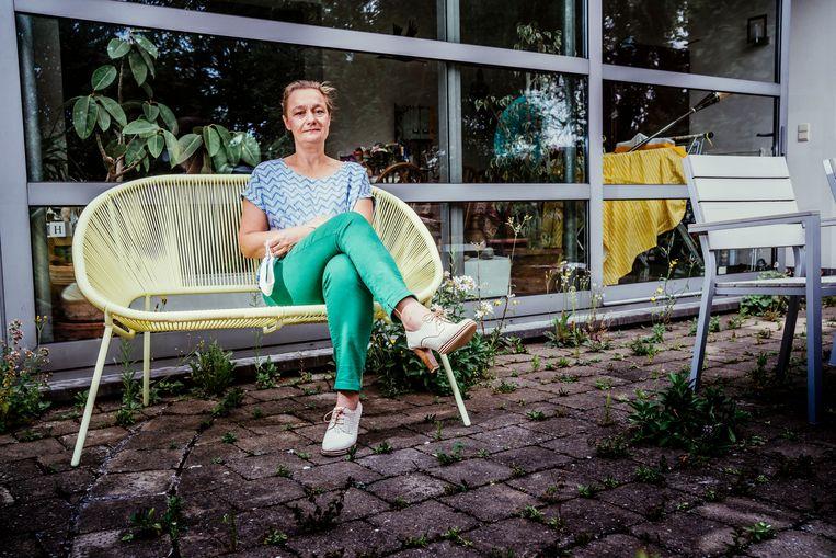 Erika Vlieghe: 'Naar mijn gevoel was vooral de laatste stap van die exit een probleem: de heropening van de horeca en de vergroting van de bubbel.' Beeld Stefaan Temmerman