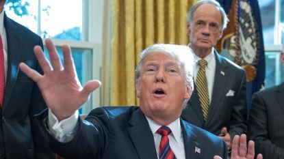 Trump trekt bewering over terreurmigranten in karavaan in