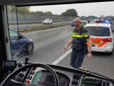 Supportersbus PEC Zwolle betrokken bij ongeval