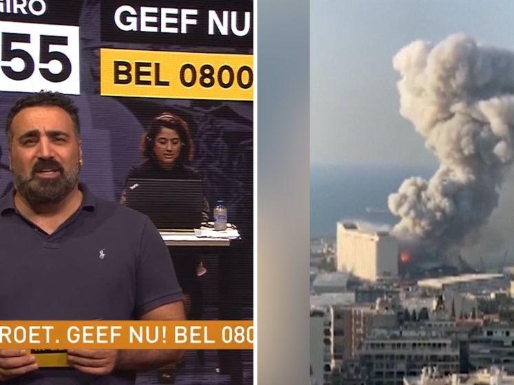 Update Giro555: Al ruim 8 miljoen euro opgehaald voor Beiroet