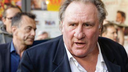 Gérard Depardieu strijkt neer in Brussel voor promotie van provocerende film