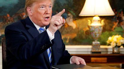 """Trump """"staat open"""" voor nieuw nucleair akkoord met Iran, Iran noemt Trump """"geen geloofwaardige partner"""""""