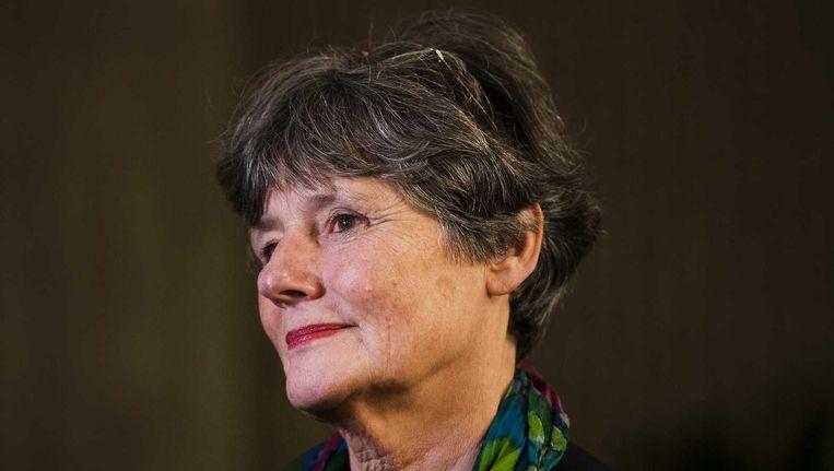 Louise Gunning zag eerder dit jaar nog af van de baan bij Schiphol, vanwege de slepende studentenprotesten bij haar oude werkgever. Beeld ANP