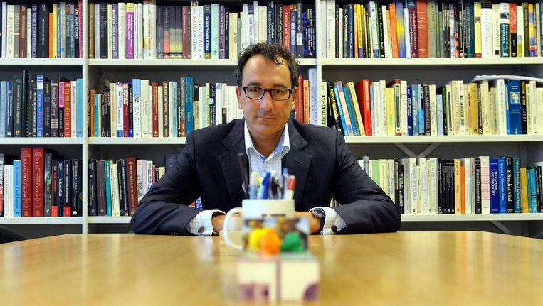 Diederik Stapel, Tilburgs hoogleraar die vorig jaar in het nieuws kwam doordat hij grootschalig had gefraudeerd met onderzoeksgegevens. Beeld Nederlandse Freelancers