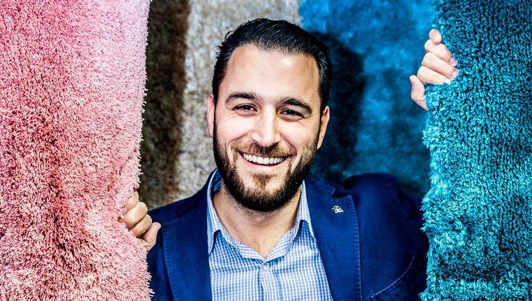 Mustafa Aslan: 'Nederlandse soldaten waren wel medeverantwoordelijk voor Srebrenica. Verder wil ik er niets over zeggen.' Beeld Aurélie Geurts / de Volkskrant