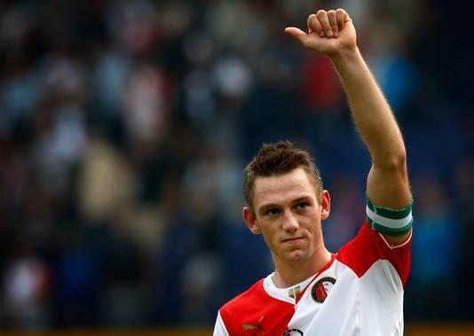 Stefan de Vrij in zijn tijd bij Feyenoord.