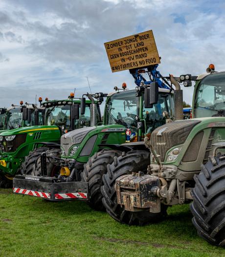 Boerenprotest woensdag niet bij RIVM, wel bij honkbalclub langs Biltse Rading