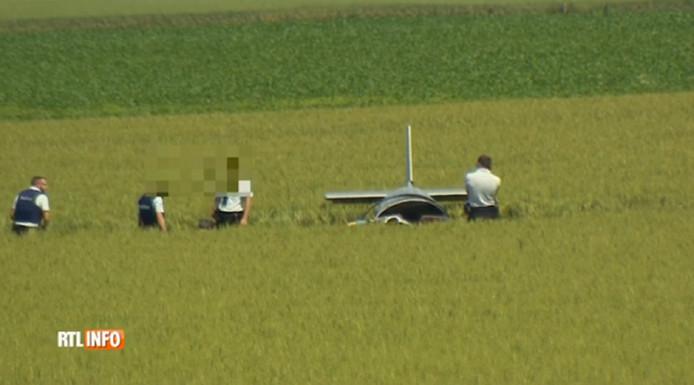 Le crash de l'avion de tourisme a fait deux victimes.
