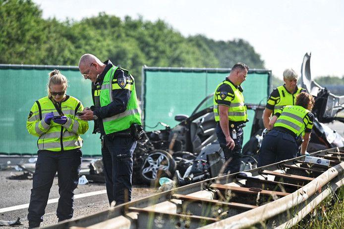 Dodelijk ongeval op de A58 bij Rucphen