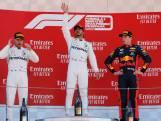WK-klassement: Verstappen pakt derde plek, Hamilton opnieuw aan de leiding
