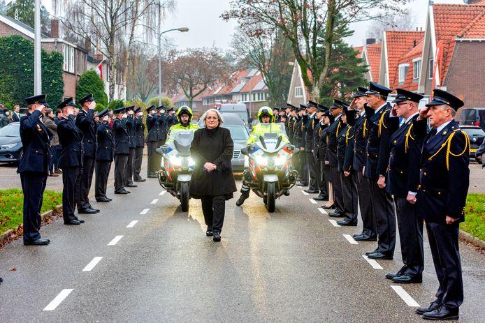 De uitvaart brandweerman Pim van der Bruggen