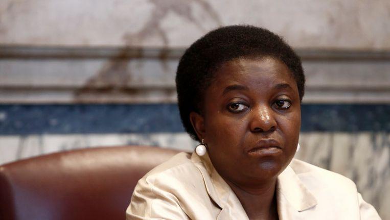 De Italiaanse minister van Integratie Cécile Kyenge Beeld Photo News