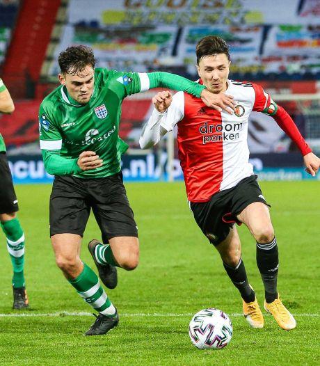 Berghuis na minimale zege op PEC: 'Als je zo blijft spelen, ga je ook punten verliezen'