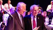 Harmonie huldigde 91-jarige muzikant Alfons