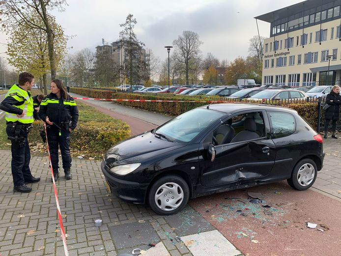 De politie doet onderzoek naar de oorzaak van het ongeluk bij het Helicon in Den Bosch.