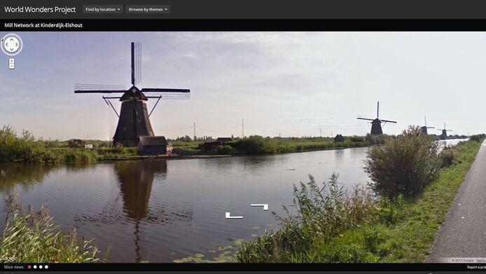 De Kinderdijk op het World Wonders Project.