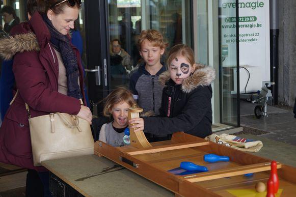 Jong en oud ontdekte de nieuwe culturele hotspot van Roeselare. Zondag waren kinderen baas in Trax.