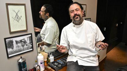 """Amerikaan opende zopas z'n eigen barbershop in Roeselare: """"Ik verloor mijn hart aan stad en aan vrouw tijdens wereldreis"""""""