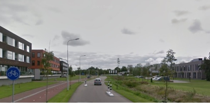 De Emil Sandstromweg in Zierikzee