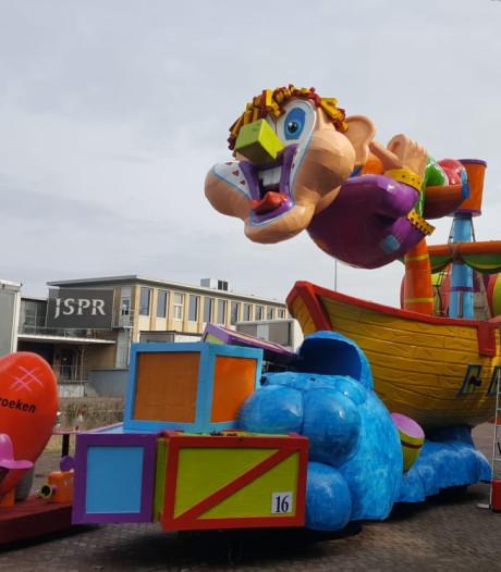 Carnaval 2019 was voor CV De Zware Jongens uit Valkenswaard een domper door kapotte kar