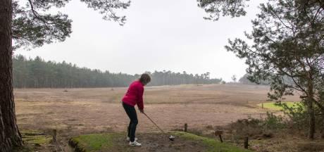 Verscholen privégolfbaan op de heide bij Ermelo gaat open: 'in het weekend is-ie gewoon weer van ons'