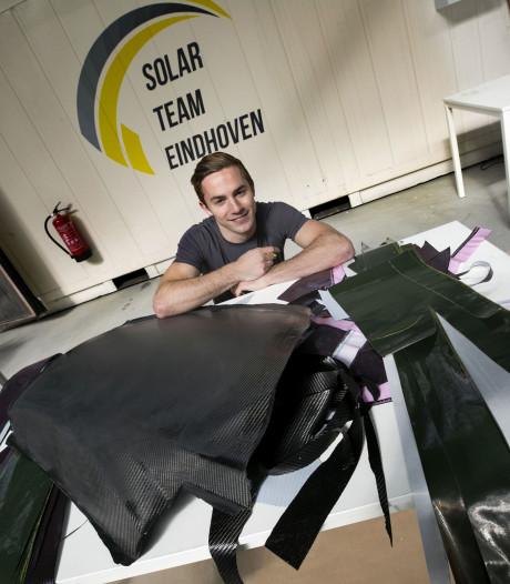 Wijchenaar Thomas bouwt het vervoer van de toekomst: de zonne-auto