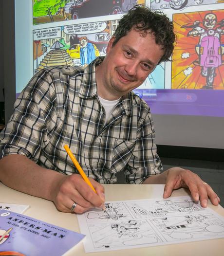 Ralph Dikmans signeert derde stripalbum in Boxtel