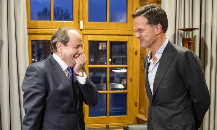 Premier Mark Rutte ontving dinsdag Hans Vijlbrief (D66), beoogd staatssecretaris van Financiën. Vandaag worden hij en Alexandra van Huffelen door de koning beëdigd op paleis Huis ten Bosch.