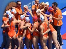 Waterpolovrouwen spelen gelijk tegen Italië op EK in Barcelona