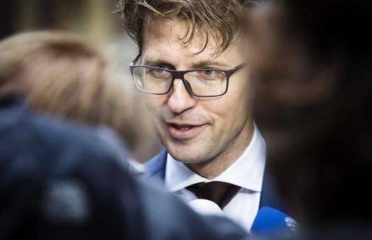 Staatssecretaris Sander Dekker van Onderwijs, Cultuur & Wetenschap.