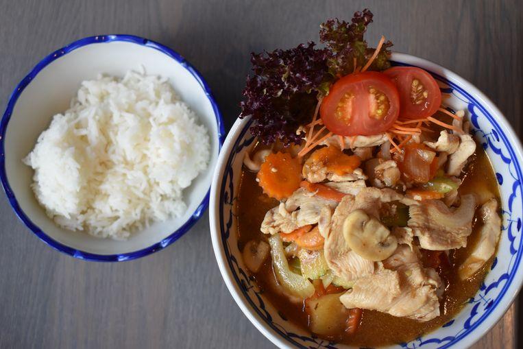 Thais gerecht: Kai Med Ma Moang.