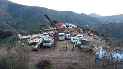 Alweer tegenslag en vertraging bij zoektocht naar Spaanse peuter Julen (2): reddingswerkers botsen op groot rotsblok