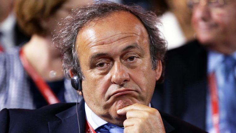 Michel Platini Beeld epa