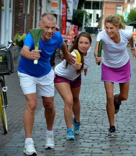 Gaan met die banaan! Estafettelopers rennen door IJsselstein voor Voedselbank