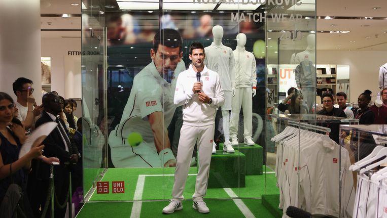Novak Djokovic. Beeld getty