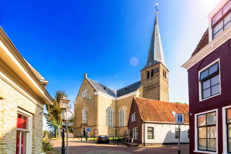 In de Grote Kerk worden de Anton Wachterprijs en Ina Dammanprijs uitgereikt. Beeld Sander Groen