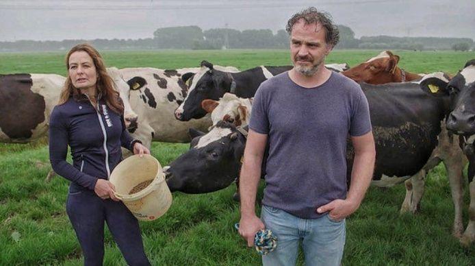 Hanno en Femke Hak van veehouderij Anna's Hoeve in Abcoude.