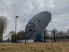 Uitklapbaar zonnepaneel blikvanger bij 7Poort Zevenaar