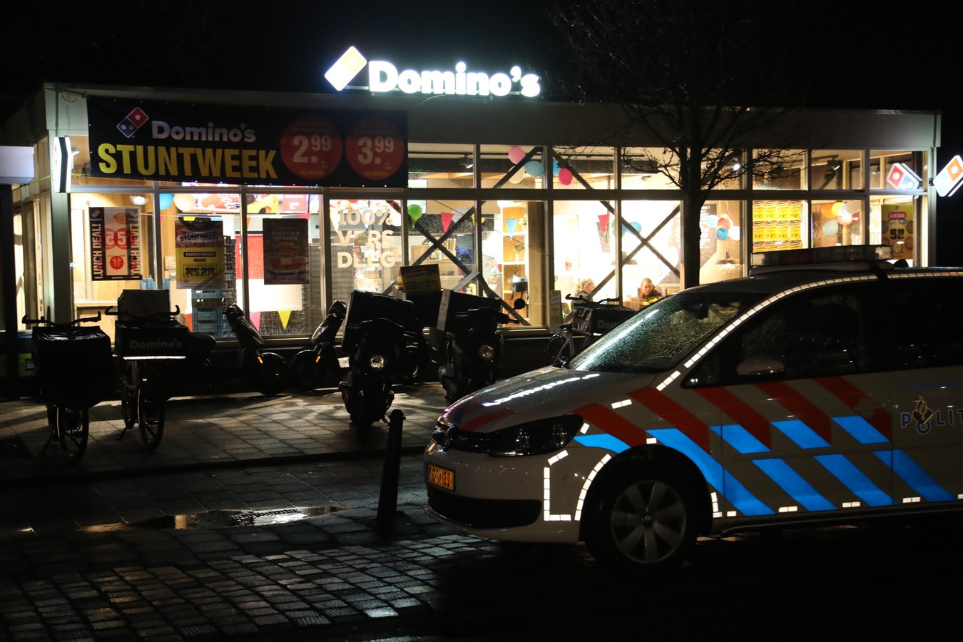 Gewapende overval op Domino's pizza in Oss