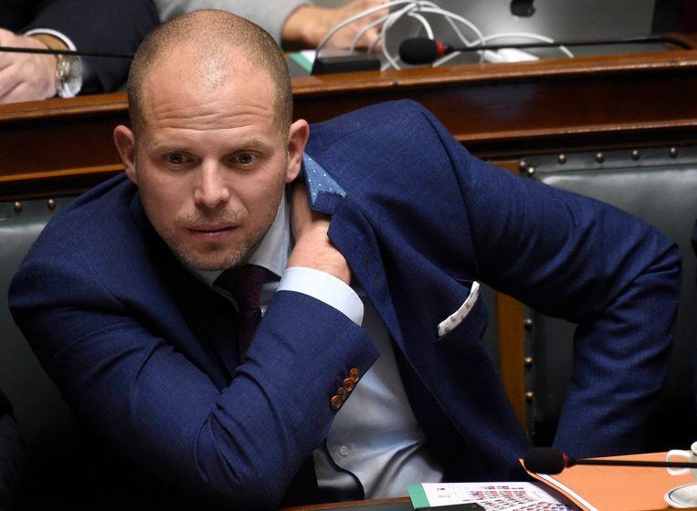 """N-VA-Kamerlid Theo Francken: """"Als de Vlamingen nu de hakken niet in het zand zetten, komt er een regering zonder Vlaamse meerderheid en dat willen we zeker niet."""""""