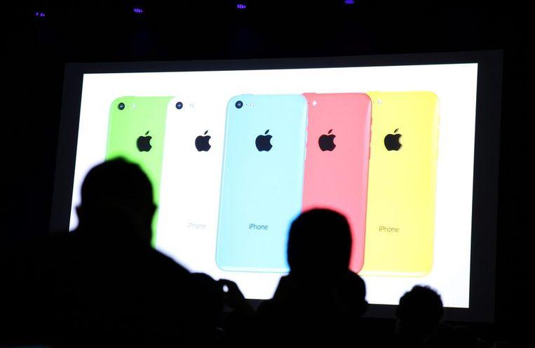 De iPhone 5C. Beeld epa
