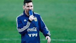 Voor zielsrust: Messi maakt rentree bij onherkenbaar Argentijns team