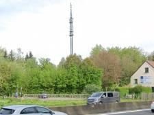 L'incendie du pylône GSM à Watermael-Boitsfort est d'origine criminelle
