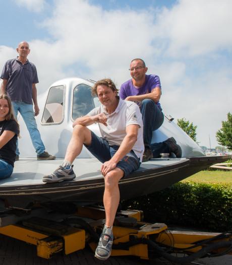 Hovercraft zal niet in de Biesbosch en Dordrecht te zien zijn