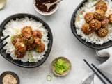 Wat Eten We Vandaag: Teriyaki-kipballetjes met rijst