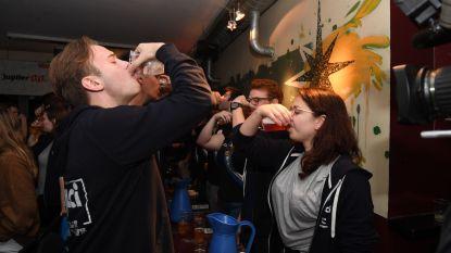 Een cantus zonder alcohol? Dat gaat er zo aan toe
