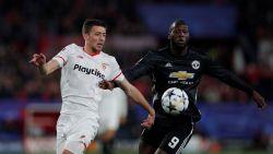 Kanon van Lukaku zwijgt, maar United verlaat Sevilla met behoorlijke uitgangspositie